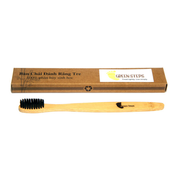 Bamboo Toothbrush oval shape