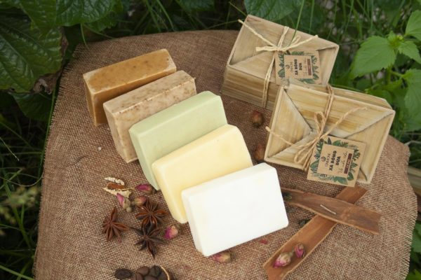 Coconut soap bar