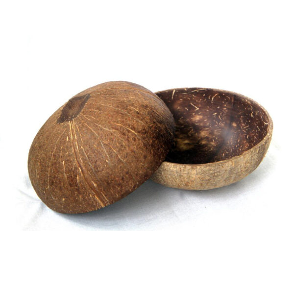 Handcrafted all-natural coconut bowl
